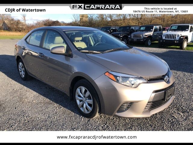 2016 Toyota Corolla LE Watertown NY