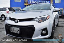 2016_Toyota_Corolla_S / Automatic / Sunroof / Bluetooth / Back-Up Camera / Cruise Control / 37 MPG / 1-Owner_ Anchorage AK
