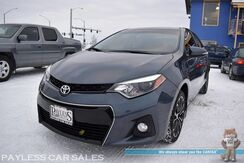 2016_Toyota_Corolla_S Plus / Automatic / Sunroof / Bluetooth / Back Up Camera / LED Headlights / Cruise Control / Aluminum Wheels / Block Heater / USB & AUX Jacks / 37 MPG_ Anchorage AK
