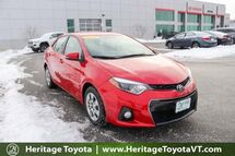 2016 Toyota Corolla S South Burlington VT