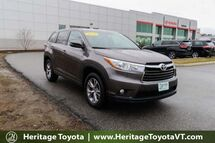 2016 Toyota Highlander LE Plus South Burlington VT