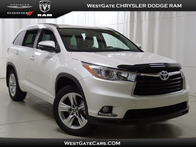 2016 Toyota Highlander Limited Raleigh NC