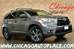 2016_Toyota_Highlander_XLE AWD - 3.5L V6 ENGINE ALL WHEEL DRIVE 1 OWNER NAVIGATION BACKUP CAMERA BLACK LEATHER HEATED SEATS KEYLESS GO 3RD ROW SEATS POWER LIFTGATE_ Bensenville IL