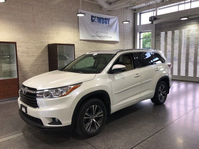 Toyota Little Rock >> 2016 Toyota Highlander Xle