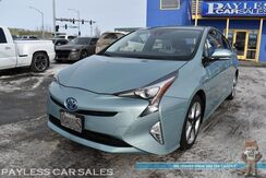 2016_Toyota_Prius_Four Touring / Advanced Tech Pkg / Heated Leather Seats / Navigation / Lane Departure & Blind Spot Alert / Adaptive Cruise Control / Bluetooth / Back Up Camera / Low Miles / 54 MPG / 1-Owner_ Anchorage AK