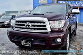 2016 Toyota Sequoia Limited / 4X4 / Power & Leather Seats / Auto Start / Sunroof / Navigation / Bluetooth / Back-Up Camera / 3rd Row / Seats 8 / Block Heater / Tow Pkg