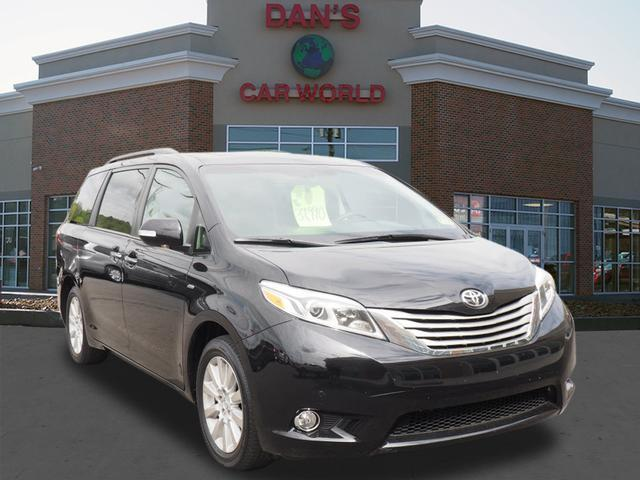 2016 toyota sienna limited premium 7 passenger bridgeport. Black Bedroom Furniture Sets. Home Design Ideas