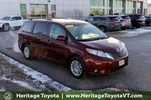 2016 Toyota Sienna XLE South Burlington VT