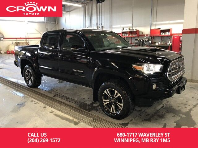 2016 Toyota Tacoma Double Cab Trd Sport Upgrade Man Short Box Clean Carproof Lease