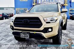 2016_Toyota_Tacoma_TRD Off Road / 4X4 / Crew Cab / Automatic / Heated Seats / Navigation / Sunroof / Blind Spot Assist / Bluetooth / Back-Up Camera / Tonneau Cover / Bed Liner / Tow Pkg / 1-Owner_ Anchorage AK
