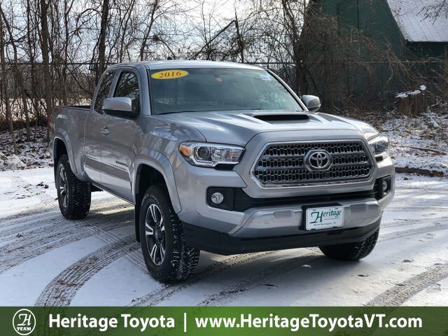 2016 Toyota Tacoma Trd Sport 4wd Access Cab V6 At
