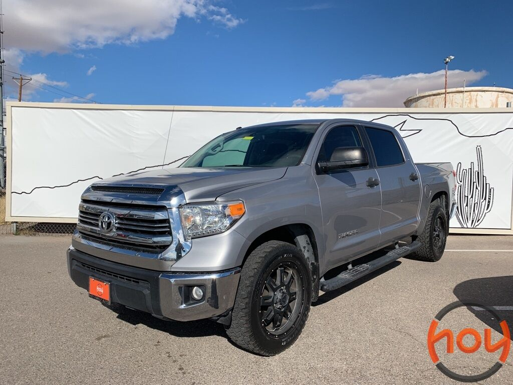 Toyota Dealership El Paso Tx >> 2016 Toyota Tundra CrewMax 4.6L V8 6-Spd AT SR5 (Natl) El Paso TX 27851596
