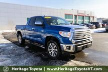 2016 Toyota Tundra Limited South Burlington VT