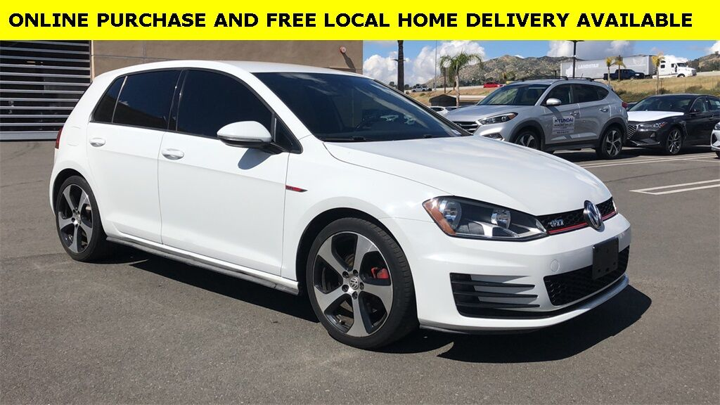 2016 Volkswagen Golf GTI S Moreno Valley CA