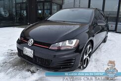 2016_Volkswagen_Golf GTI_SE / Automatic / Heated Leather Seats / Sunroof / Fender Speakers / Bluetooth / Back Up Camera / Cruise Control / 33 MPG_ Anchorage AK