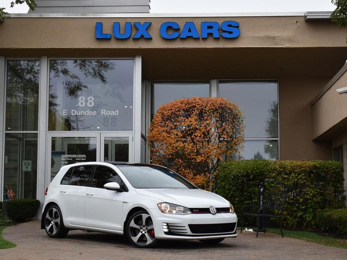2016_Volkswagen_Golf GTI_SE Performance Pkg Leather 6-Speed Manual MSRP $32,060_ Buffalo Grove IL