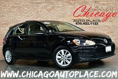 2016_Volkswagen_Golf_TSI S w/Sunroof - 1 OWNER CLEAN CARFAX 1.8L TURBOCHARGED 4-CYL BACKUP CAMERA BLACK CLOTH INTERIOR PREMIUM WHEELS BLUETOOTH STREAMING_ Bensenville IL