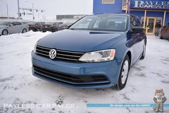 2016_Volkswagen_Jetta Sedan_1.4T S / Automatic / Turbocharged / Bluetooth / Back-Up Camera / Power Mirrors Windows & Locks / Cruise Control / 39 MPG / 1-Owner_ Anchorage AK