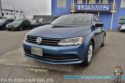 2016_Volkswagen_Jetta Sedan_1.4T S / Turbocharged / Automatic / Bluetooth / Back Up Camera / Air Conditioning / Cruise Control / UBS & AUX Jacks / Low Miles / 39 MPG / 1-Owner_ Anchorage AK