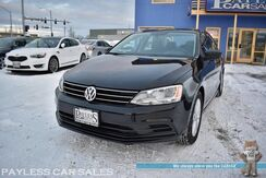 2016_Volkswagen_Jetta Sedan_1.4T S / Turbocharged / Automatic / Bluetooth / Cruise Control / Power Mirrors Windows & Locks / Aluminum Wheels / 39 MPG / 1-Owner_ Anchorage AK