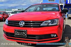 2016_Volkswagen_Jetta Sedan_1.8T Sport / Turbocharged / Automatic / Heated Leather Seats / Navigation / Bluetooth / Back-Up Camera / Cruise Control / 36 MPG / 1-Owner_ Anchorage AK