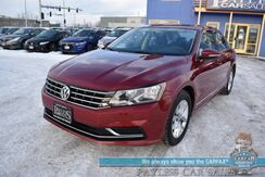 2016_Volkswagen_Passat_1.8T S / Automatic / Power Locks & Windows / Bluetooth / Back Up Camera / Cruise Control / 38 MPG_ Anchorage AK