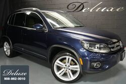 Volkswagen Tiguan R-Line, Touch-Screen Audio Display, In-Dash CD-Player, Rear-View Camera, Bluetooth Streaming Audio, Heated Leatherette Seats, 19-Inch Alloy Wheels, 2016