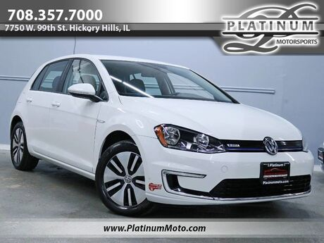 2016 Volkswagen e-Golf SE 1 Owner Auto MSRP $31,625 Hickory Hills IL
