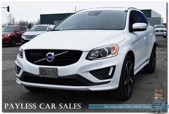 2016_Volvo_XC60_T6 Platinum R-Design / AWD / Heated Leather Seats & Steering Wheel / Panoramic Sunroof / Navigation / Harman Kardon Speakers / Bluetooth / Back-Up Camera / Adaptive Cruise Control / Blind Spot Monitors / 1-Owner_ Anchorage AK