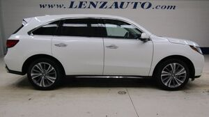 2017 Acura MDX AWD: 3.5L-TECHNOLOGY PACKAGE-NAV-MOON-BENCH-THIRD-REVERSE CAMERA-LEATHER-CD PLAYER-AWD-1 OWNER