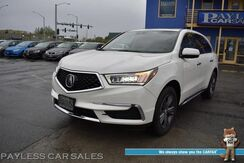 2017_Acura_MDX_AWD / Heated Leather Seats / Sunroof / Lane Departure & Blind Spot Alert / Adaptive Cruise Control / 3rd Row / Seats 7 / Bluetooth / Back Up Camera / 26 MPG / 1-Owner_ Anchorage AK