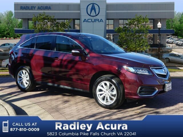 2017 Acura Rdx Awd With Technology Package Falls Church Va