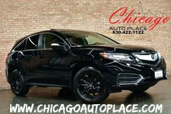 2017_Acura_RDX_CLEAN CARFAX ONLY 6100 MILES! KEYLESS GO MULTI-VIEW BACKUP CAMERA BLACK LEATHER HEATED SEATS SUNROOF POWER LIFTGATE LED HEADLIGHTS_ Bensenville IL