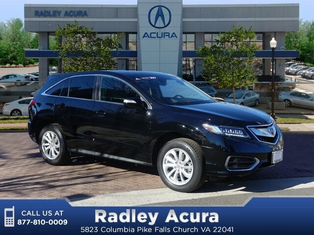 2017 Acura Rdx Technology And Acurawatch Plus Packages Falls Church