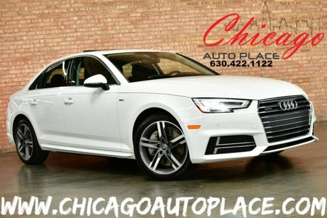 2017 Audi A4 Premium Plus S-LINE - 2.0L TFSI I4 ENGINE QUATTRO ALL WHEEL DRIVE ORIGINAL MSRP :$48,775 TECHNOLOGY PACKAGE COLD WEATHER PACKAGE 3D SURROUND SOUND SYSTEM NAVIGATION BACKUP CAMERA Bensenville IL