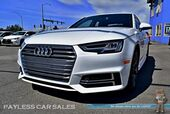 2017 Audi A4 Premium Plus S-Line / Quattro AWD / Sport Plus Pkg / Tech Pkg / Virtual Cockpit / Heated & Ventilated Leather Seats / Sunroof / Navigation / Bang & Olufsen Speakers / Bluetooth / Back Up Camera / Blind Spot Monitor / NICHE Rims / 31 MPG
