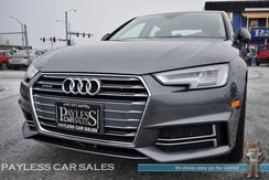 2017_Audi_A4_Premium Plus S-Line Quattro AWD / Tech Package / Power & Heated Leather Seats / Heated Steering Wheel / Navigation / Bang & Olufsen Speakers / Sunroof / Virtual Cockpit / Bluetooth / Back Up Camera / 20k Mile Tune-Up Done / 1-Owner_ Anchorage AK