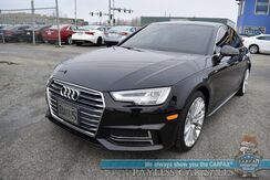 2017_Audi_A4_Prestige / S-Line / AWD / Heated Leather Seats / Navigation / Sunroof / Bang & Olufsen Speakers / Blind Spot Alert / HUD / Virtual Cockpit / Bluetooth / Surround View Camera / 31 MPG_ Anchorage AK