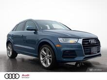2017_Audi_Q3_quattro 4dr 2.0T Progressiv*ONE OWNER*LOW FINANCE*_ Windsor ON