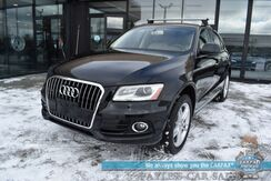 2017_Audi_Q5_Premium Plus / AWD / Heated Leather Seats / Navigation / Sunroof / Blind Spot Alert / Bluetooth / Back Up Camera / Cruise Control / Tow Pkg / 27 MPG_ Anchorage AK