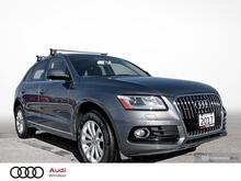 2017_Audi_Q5_quattro 4dr 2.0T Progressiv*LOW FINANCE*LOW KM!_ Windsor ON