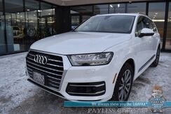 2017_Audi_Q7_Premium Plus / AWD / Heated Leather Seats / Bose Speakers / Sunroof / Adaptive Cruise Control / Lane Departure & Blind Spot Alert / Virtual Cockpit / 3rd Row / Seats 7 / Bluetooth / Back Up Camera / Tow Pkg / 1-Owner_ Anchorage AK