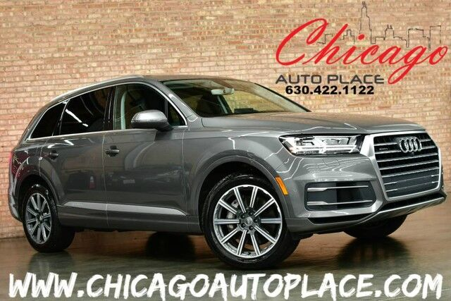 2017 Audi Q7 Prestige QUATTRO S-LINE - AWD NAVIGATION TOP VIEW CAMERAS BOSE AUDIO KEYLESS GO HEADS-UP DISPLAY POWER 3RD ROW PANO ROOF POWER LIFTGATE Bensenville IL