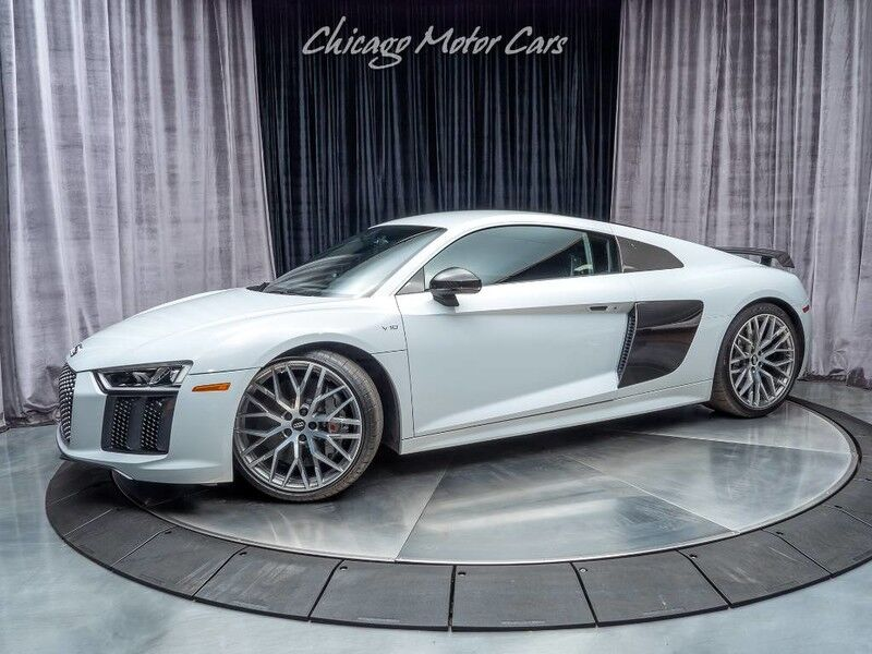 2017_Audi_R8 Coupe_V10 plus MSRP $204k+ Radar! **Suzuka Gray**_ Chicago IL