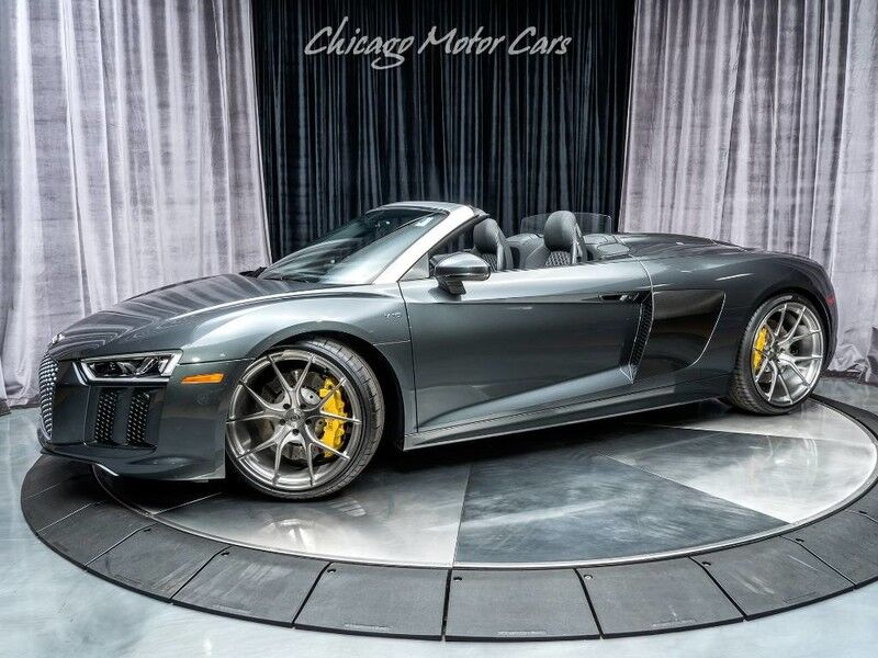 2017_Audi_R8 Spyder_V10 MSRP $192k+ $20k+ Upgrades!_ Chicago IL