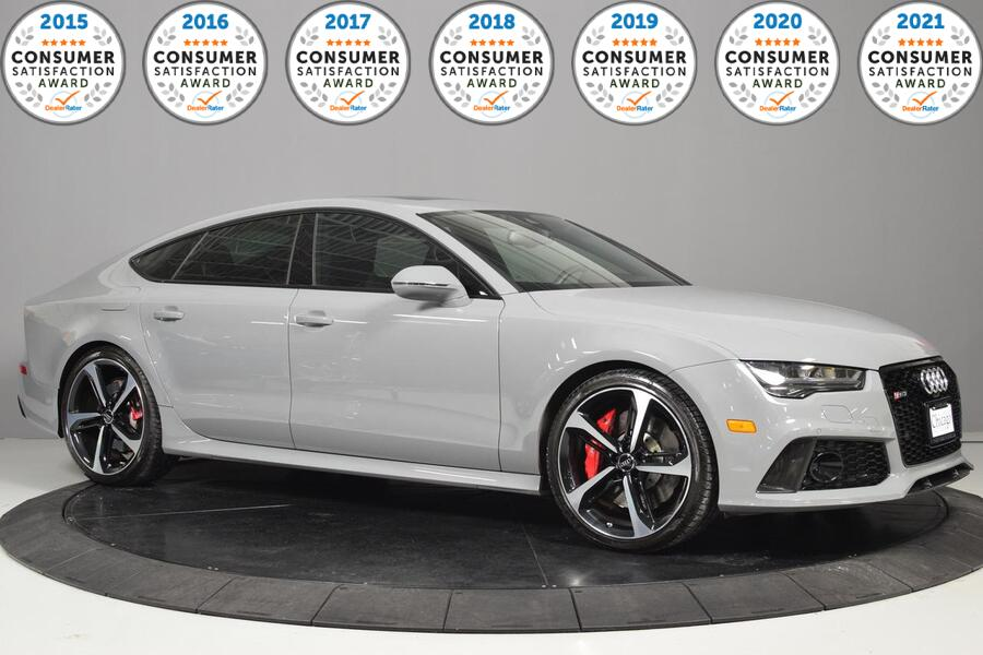 2017 Audi RS 7 Prestige Warranty Until Aug 2020 1 Owner Carfax Certified Glendale Heights IL