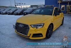 2017_Audi_S3_Premium Plus / Carbon Fiber Pkg / Dynamic Pkg / AWD / Heated Leather Seats / Sunroof / Virtual Cockpit / Blind Spot Alert / Bluetooth / 28 MPG / Only 14K Miles / 1-Owner_ Anchorage AK