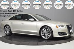 Audi S8 plus $139,425 MSRP Dynamic Package ($11k)~Rear Tv's 2017