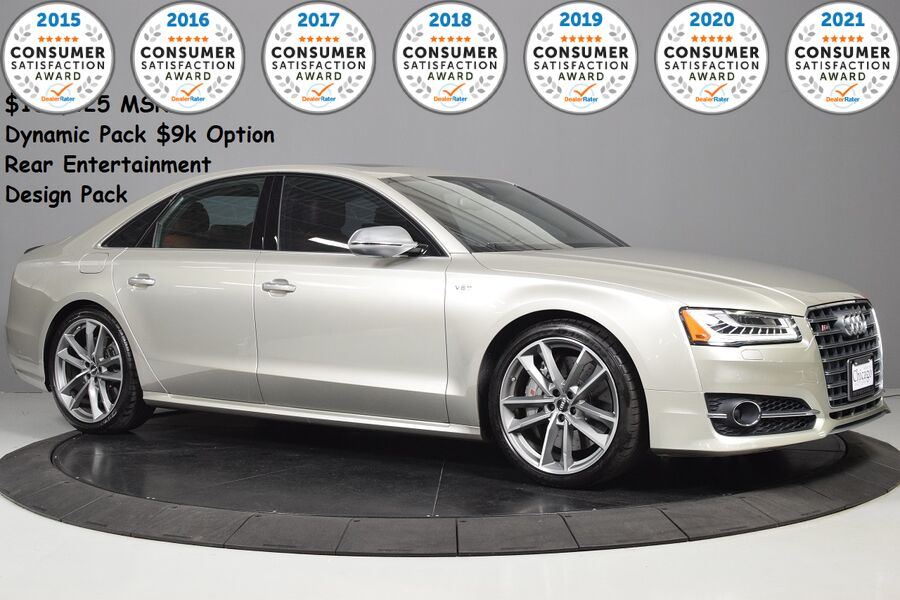 2017_Audi_S8 plus $139,425 MSRP_Dynamic Package ($11k)~Rear Tv's_ Glendale Heights IL