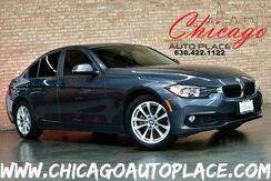 2017_BMW_3 Series_320i - 2.0L TWINPOWER TURBO 4-CYL ENGINE REAR WHEEL DRIVE BLACK LEATHER INTERIOR KEYLESS GO BLUETOOTH AUDIO STREAMING ALUMINUM SILVER INTERIOR TRIM_ Bensenville IL